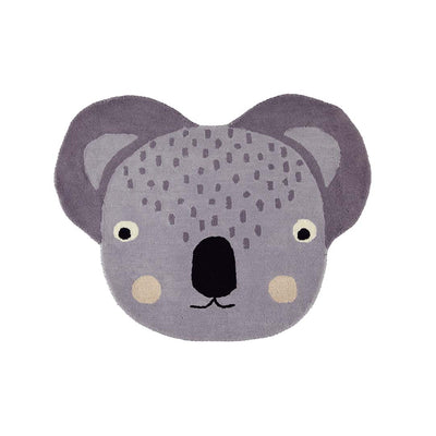 OYOY Rug - Koala - Grey-Rugs- Natural Baby Shower