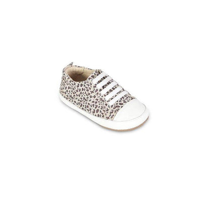 Old Soles Eazy Jogger Shoes - Cat/White-Shoes- Natural Baby Shower