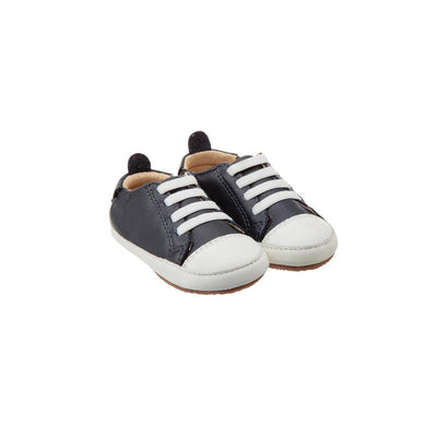 Old Soles Eazy Jogger Shoes - Navy/White-Shoes- Natural Baby Shower