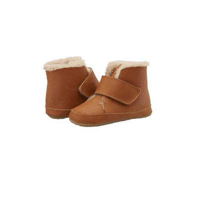 Old Soles Softly Boots - Tan-Boots- Natural Baby Shower