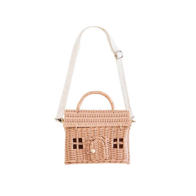 Olli Ella Casa Bag - Rose-Children's Bags- Natural Baby Shower