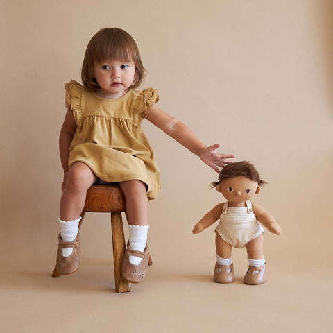 Olli Ella Dinkum Doll - Sprout-Play Sets- Natural Baby Shower