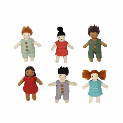 Olli Ella Holdie Folk Friends Pack-Play Sets- Natural Baby Shower
