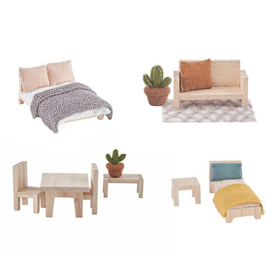 Olli Ella Holdie Furniture Pack-Play Sets- Natural Baby Shower