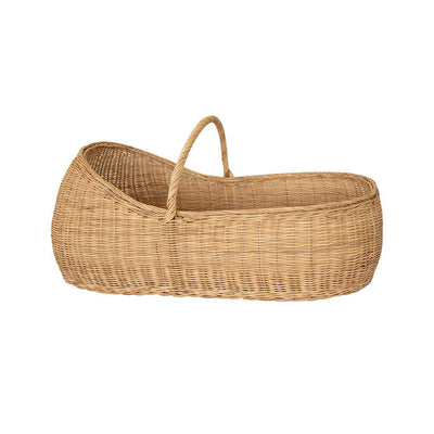 Olli Ella Lyra Moses Basket + Mattress-Moses Baskets- Natural Baby Shower