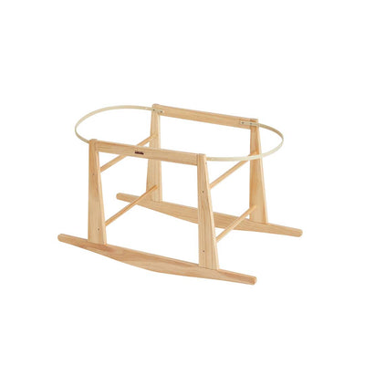 Olli Ella Lyra Wooden Bassinet Rocking Stand-Moses Baskets- Natural Baby Shower