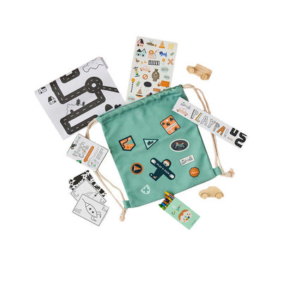 Olli Ella Play'n Pack - City-Play Sets- Natural Baby Shower