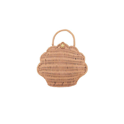 Olli Ella Shell Purse - Rose-Children's Bags- Natural Baby Shower