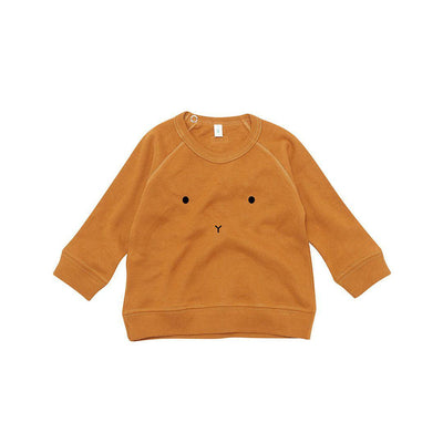 Organic Zoo Bunny Sweatshirt - Spice-Jumpers- Natural Baby Shower