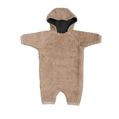 Organic Zoo Double Layer Onesie - Teddy-Rompers- Natural Baby Shower