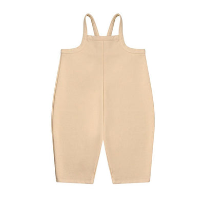 Organic Zoo Dungarees - Pebble-Dungarees- Natural Baby Shower