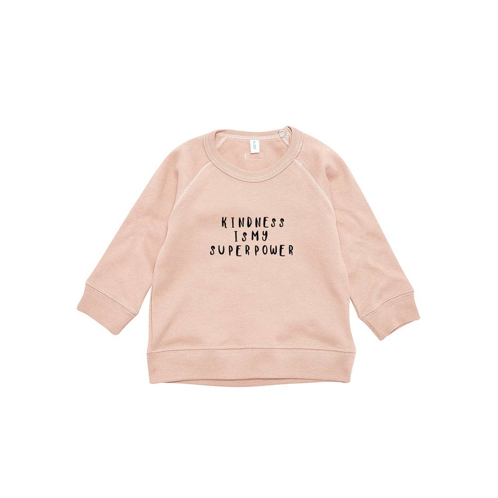 50f102d536ac3 Organic Zoo Kindness Sweatshirt - Clay-Jumpers- Natural Baby Shower ...