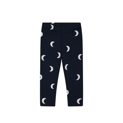 Organic Zoo Leggings - Navy Midnight-Leggings- Natural Baby Shower