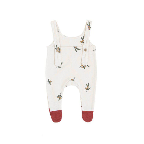 Organic Zoo Salopette Bottoms - Olive Tree-Dungarees- Natural Baby Shower