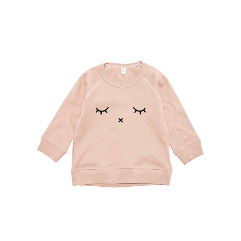 Organic Zoo Sleepy Sweatshirt - Clay-Jumpers- Natural Baby Shower