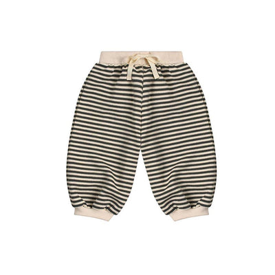 Organic Zoo Sweatpants - Stripes-Pants- Natural Baby Shower