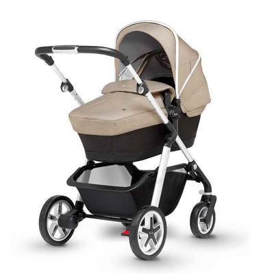 Silver Cross Pioneer Pushchair - Linen-Strollers- Natural Baby Shower