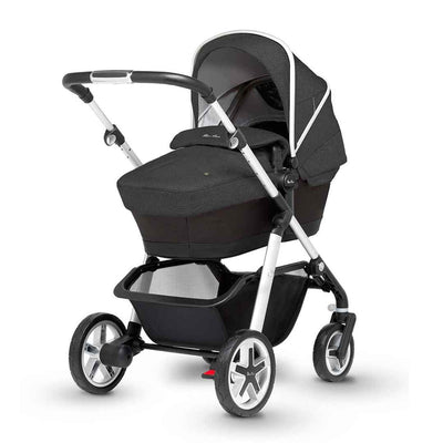 Silver Cross Pioneer Pushchair - Onyx-Strollers- Natural Baby Shower