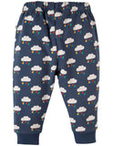 Frugi Snuggle Crawlers - Rainclouds Back