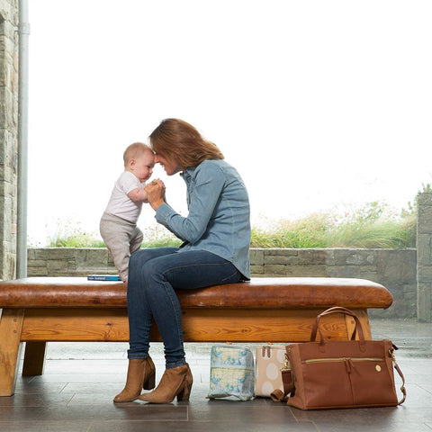 PacaPod Changing Bag - Fortuna - Tan-Changing Bags- Natural Baby Shower