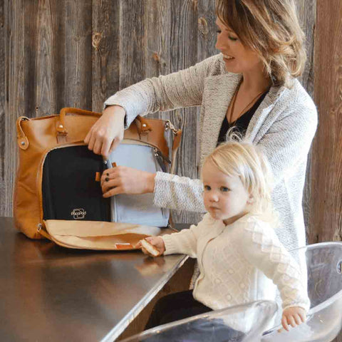 PacaPod Changing Bag - Mirano - Tan-Changing Bags-Default- Natural Baby Shower