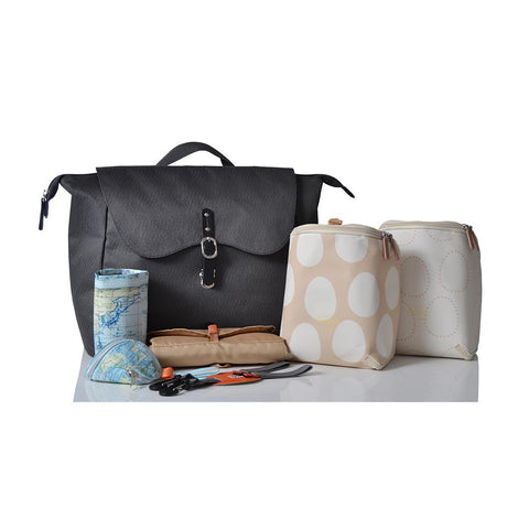 PacaPod Changing Bag - Nelson - Charcoal 2