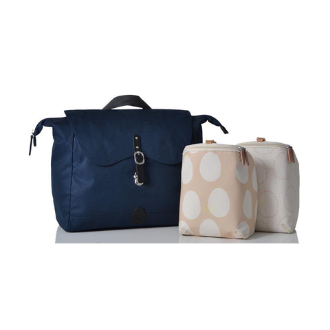 PacaPod Changing Bag - Nelson - Navy Pods