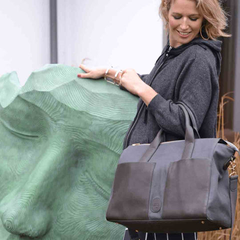 PacaPod Changing Bag - Croyde - Pewter 5