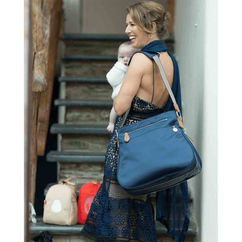 PacaPod Changing Bag - Portland - Navy Lifestyle