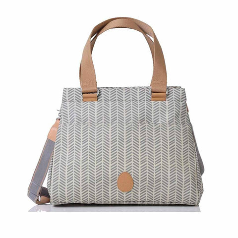 PacaPod Changing Bag - Richmond - Dove Herringbone