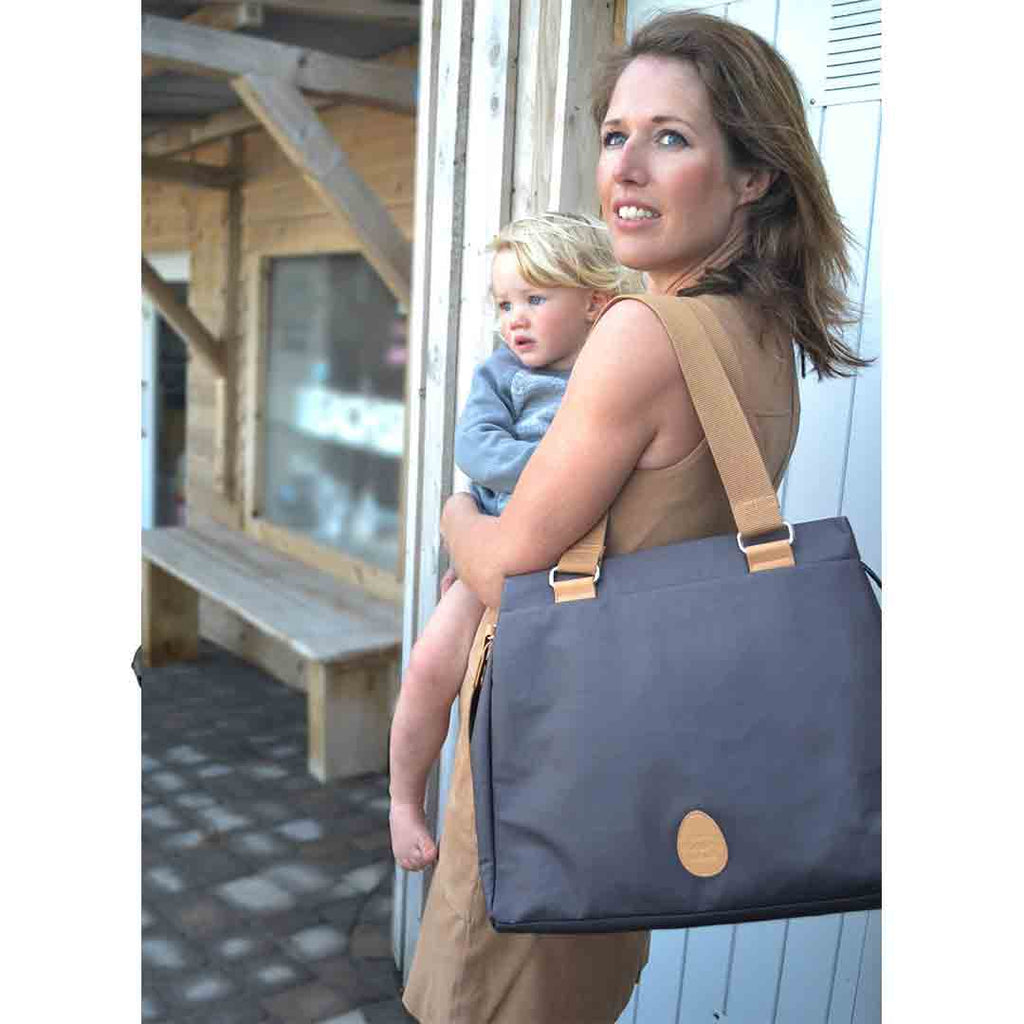PacaPod Changing Bag - Richmond - Slate-Changing Bags- Natural Baby Shower