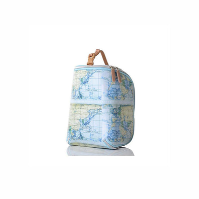 PacaPod Feeder Pod Lite - Map Print-Changing Bag Accessories-Default- Natural Baby Shower