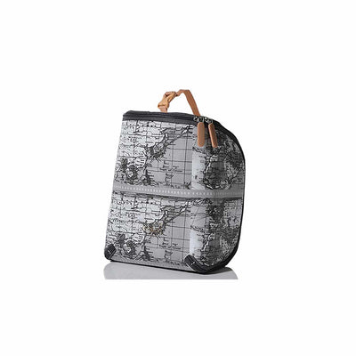 PacaPod Feeder Pod Lite - Mono Map Print-Changing Bag Accessories-Default- Natural Baby Shower
