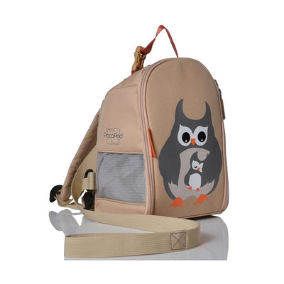 PacaPod Toddler Pod - Grey Owl & Babe-Children's Bags-Default- Natural Baby Shower
