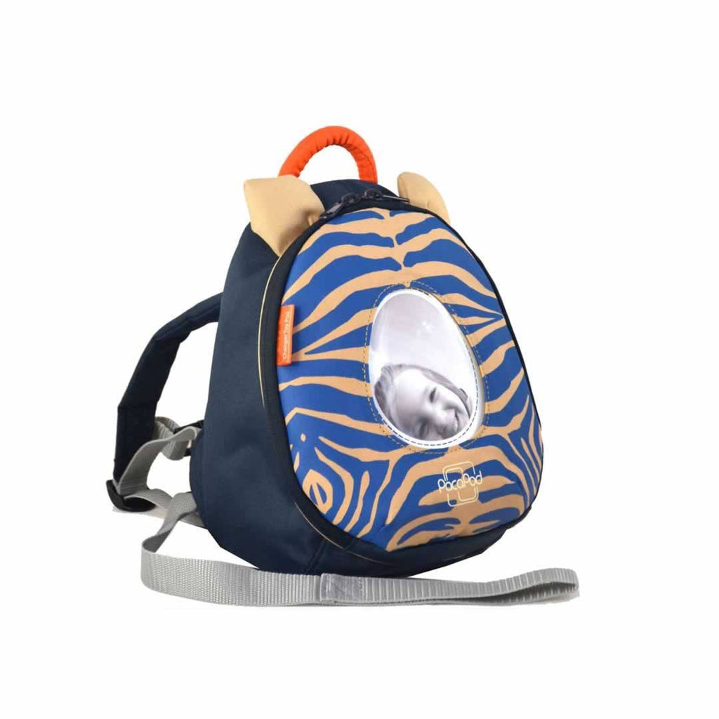 PacaPod Changer Toy Pod Blue Zebra