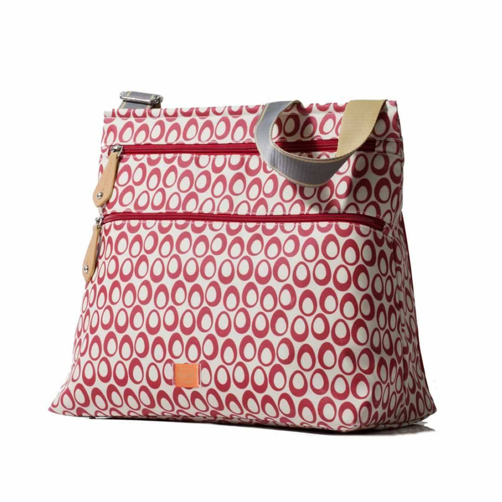 PacaPod Changing Bag - Jura in Cranberry