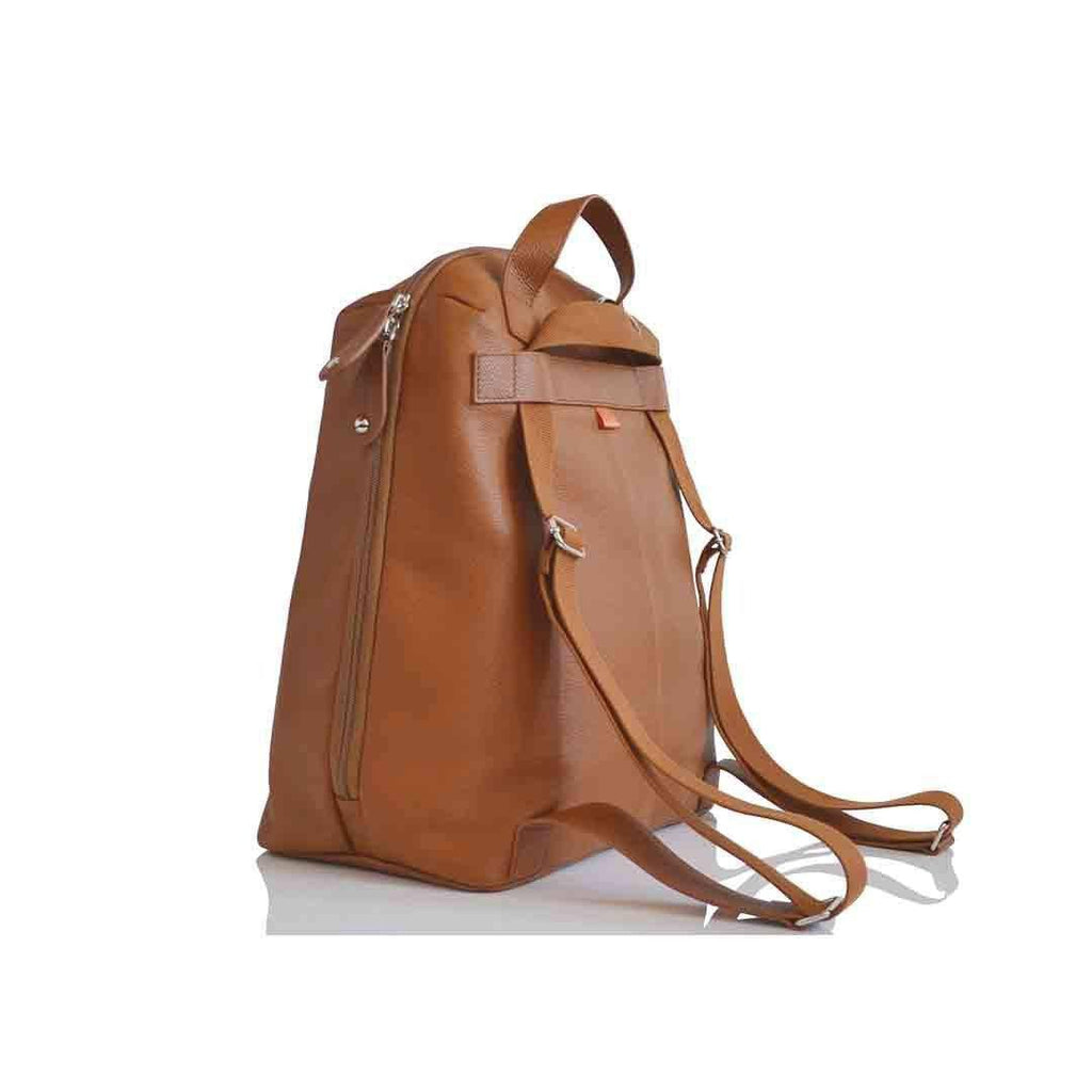 PacaPod Changing Bag - Hartland Leather - Tan-Changing Bags-Default- Natural Baby Shower