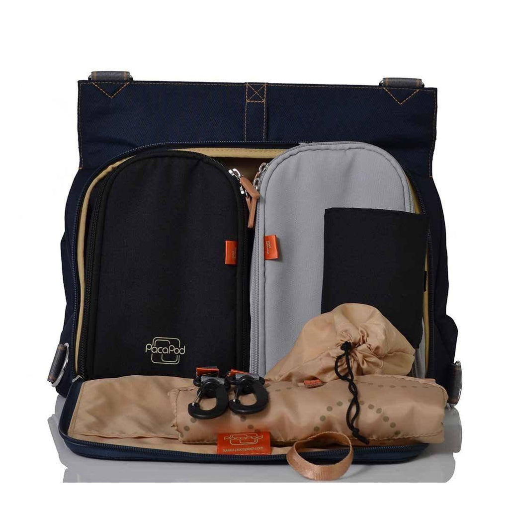 Pacapod Changing Bag - Oban - Navy Open