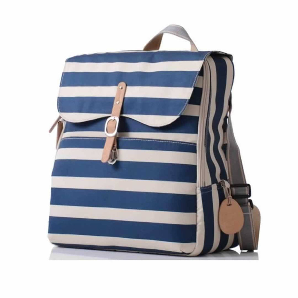 PacaPod Changing Bag - Hastings in Navy Stripe