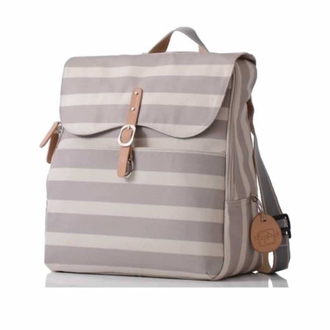 PacaPod Changing Bag - Hastings in Sand Stripe