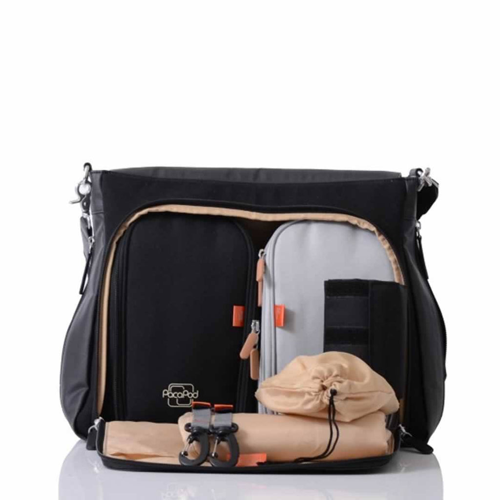Pacapod Prescott Changing Bag Black