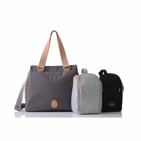PacaPod Changing Bag - Richmond - Slate - Changing Bags - Natural Baby Shower