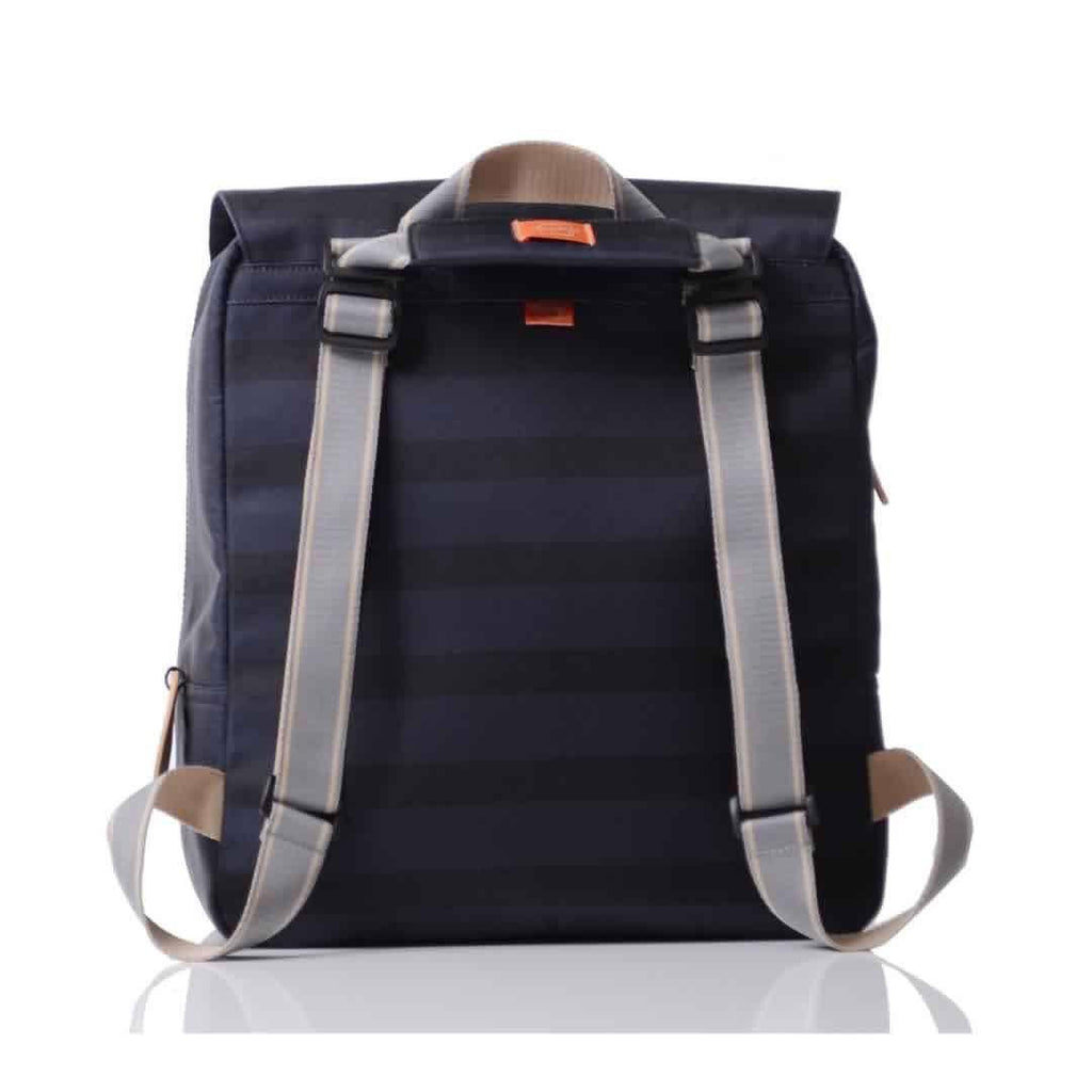 Pacapod Hastings Changing Bag - Ink Stripe Back