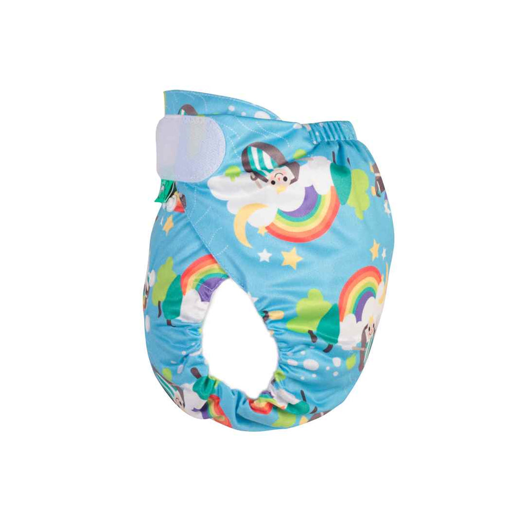 TotsBots PeeNut Wrap - Row Your Boat-Nappy Wraps- Natural Baby Shower