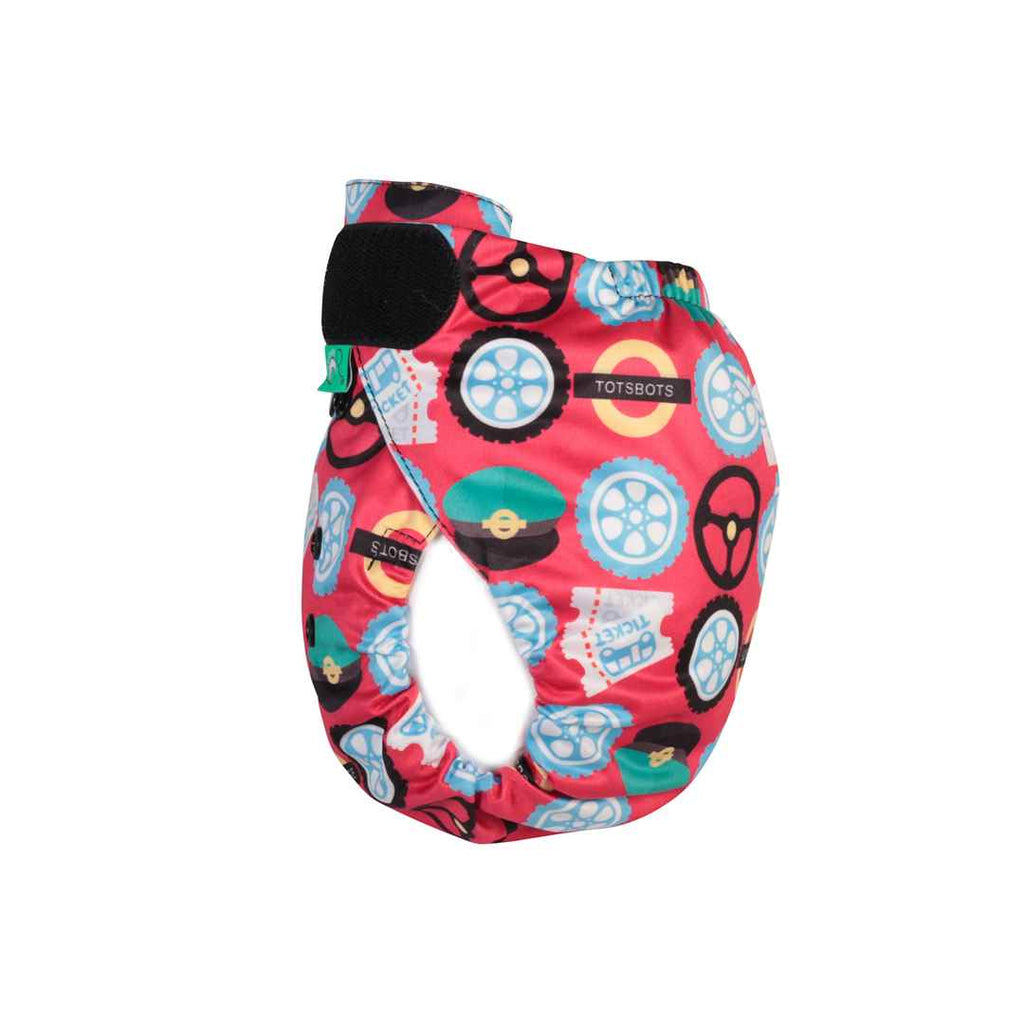 TotsBots PeeNut Wrap - Wheels on the Bus-Nappy Wraps- Natural Baby Shower