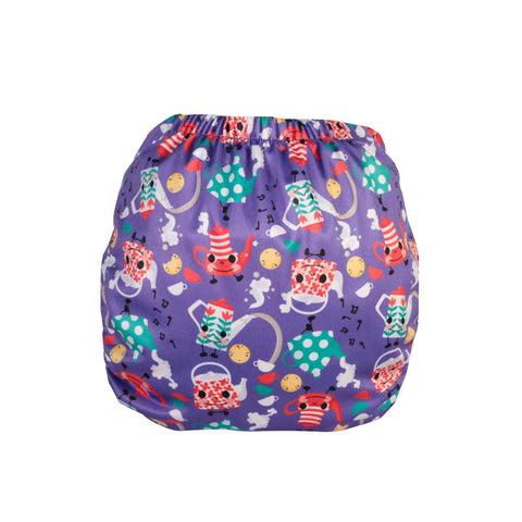 TotsBots PeeNut Wrap - I'm a Little Tea Pot-Nappy Wraps- Natural Baby Shower