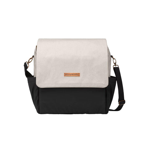 Petunia Pickle Bottom Changing Bag - Boxy Backpack - Birch/Black