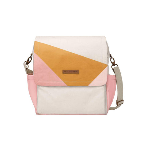 Petunia Pickle Bottom Changing Bag - Boxy Backpack - Birch/Macaroon