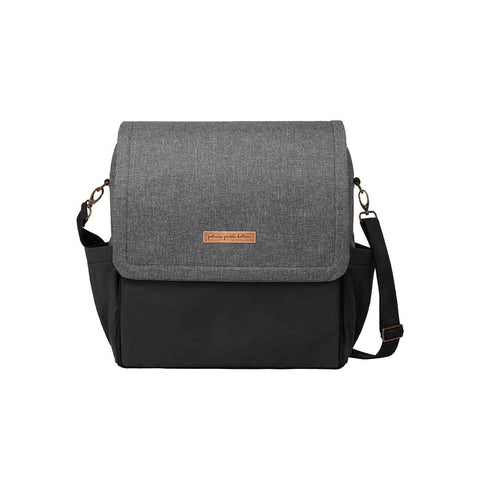 Petunia Pickle Bottom Changing Bag - Boxy Backpack - Graphite/Black
