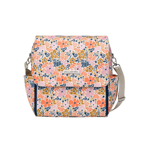 Petunia Pickle Bottom Changing Bag - Boxy Backpack - Wildflowers of Westbury-Changing Bags- Natural Baby Shower